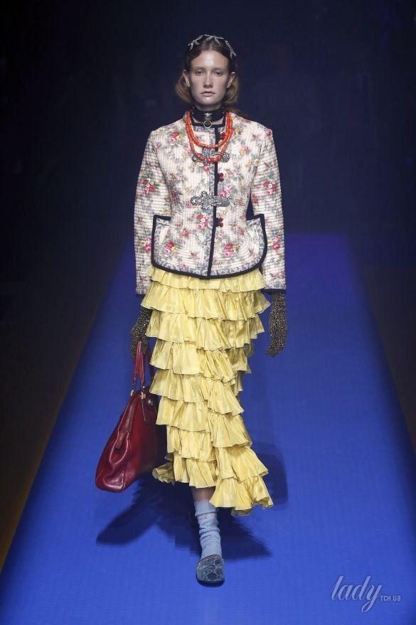Коллекция Gucci прет-а-порте сезона весна-лето 2018_67
