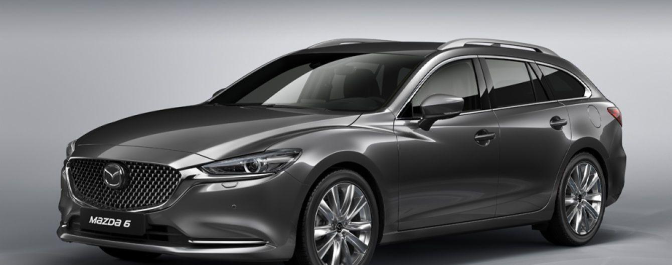 Mazda 6 покажут в новом кузове