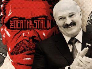 Лукашенко вбиває Сталіна
