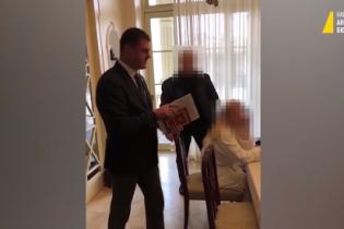 НАБУ опублікувало відео затримання екс-керівника Адміністрації морських портів