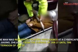 В Китаї у геймера, який просидів 20 годин поспіль, відмовили ноги