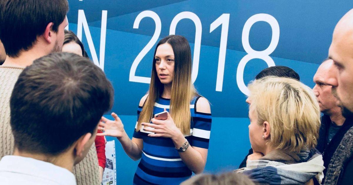 Алла Олейник, координатор Нацсовета по развитию инноваций при Кабмине