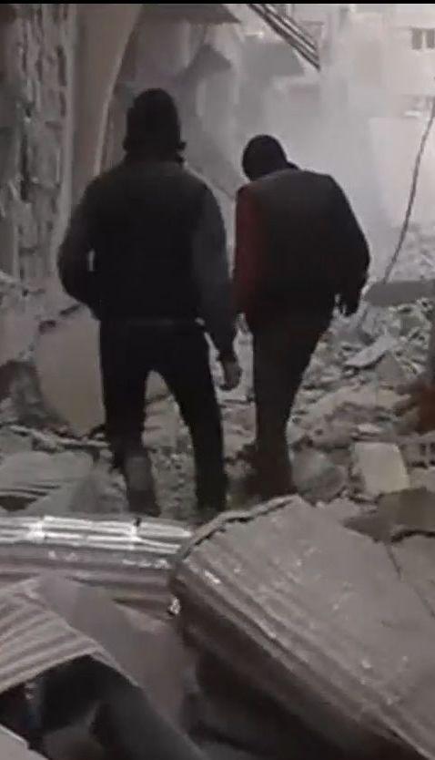 У Сирії урядові війська вщент розбомбили кілька житлових будинків