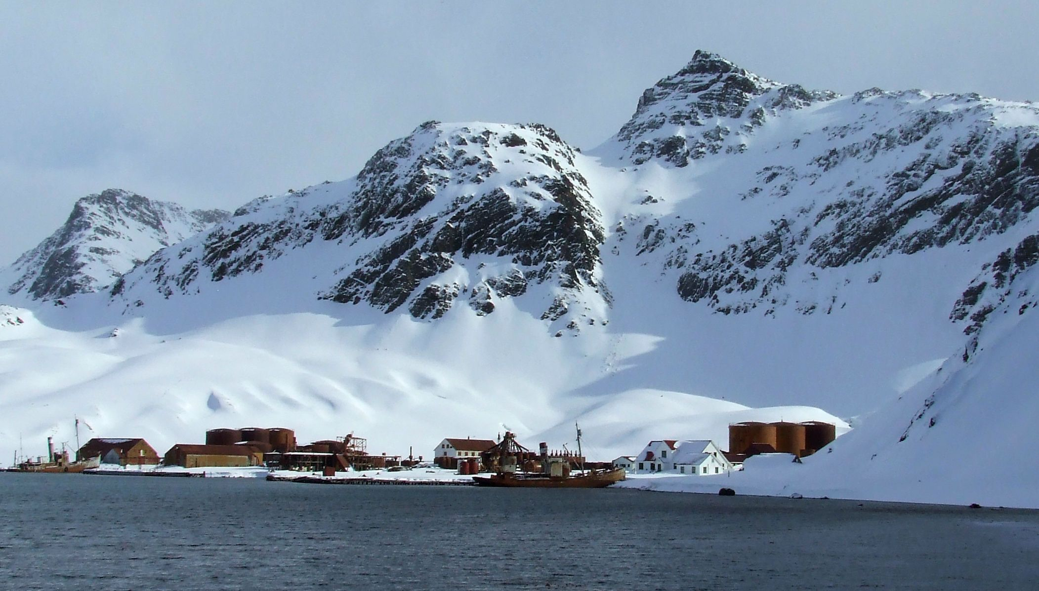 Покинута китобійна станція Грютвікен, Антарктика_2