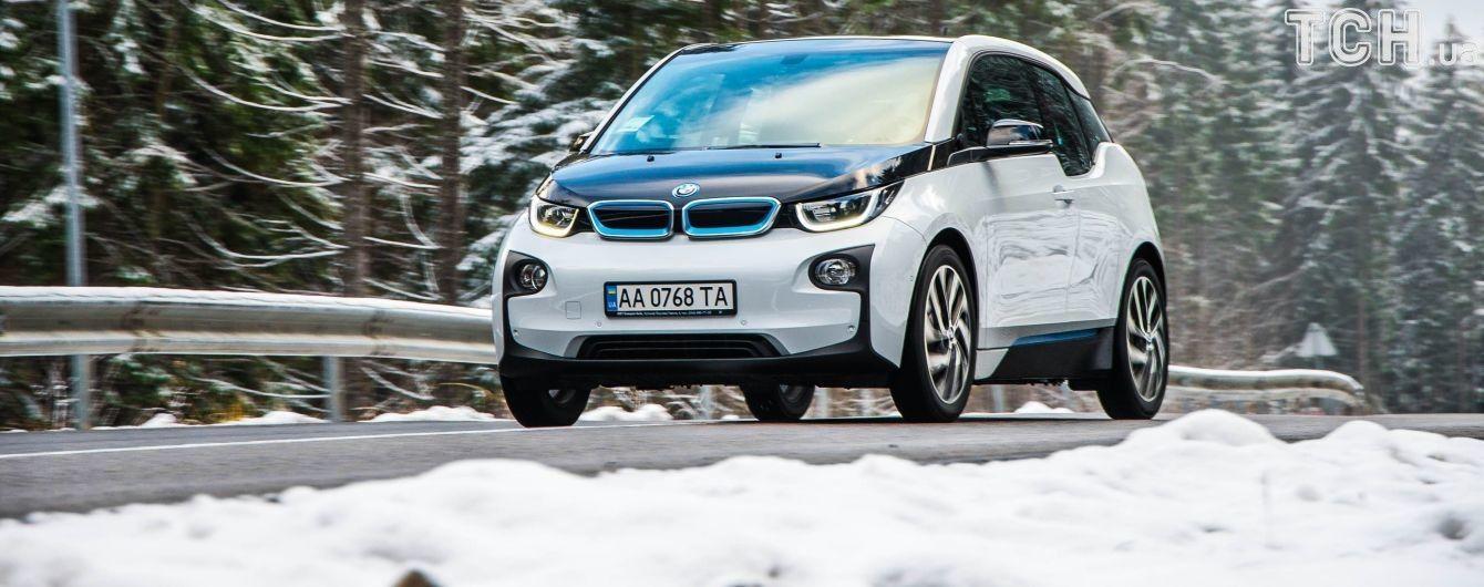 Количество электромобилей в Украине растет