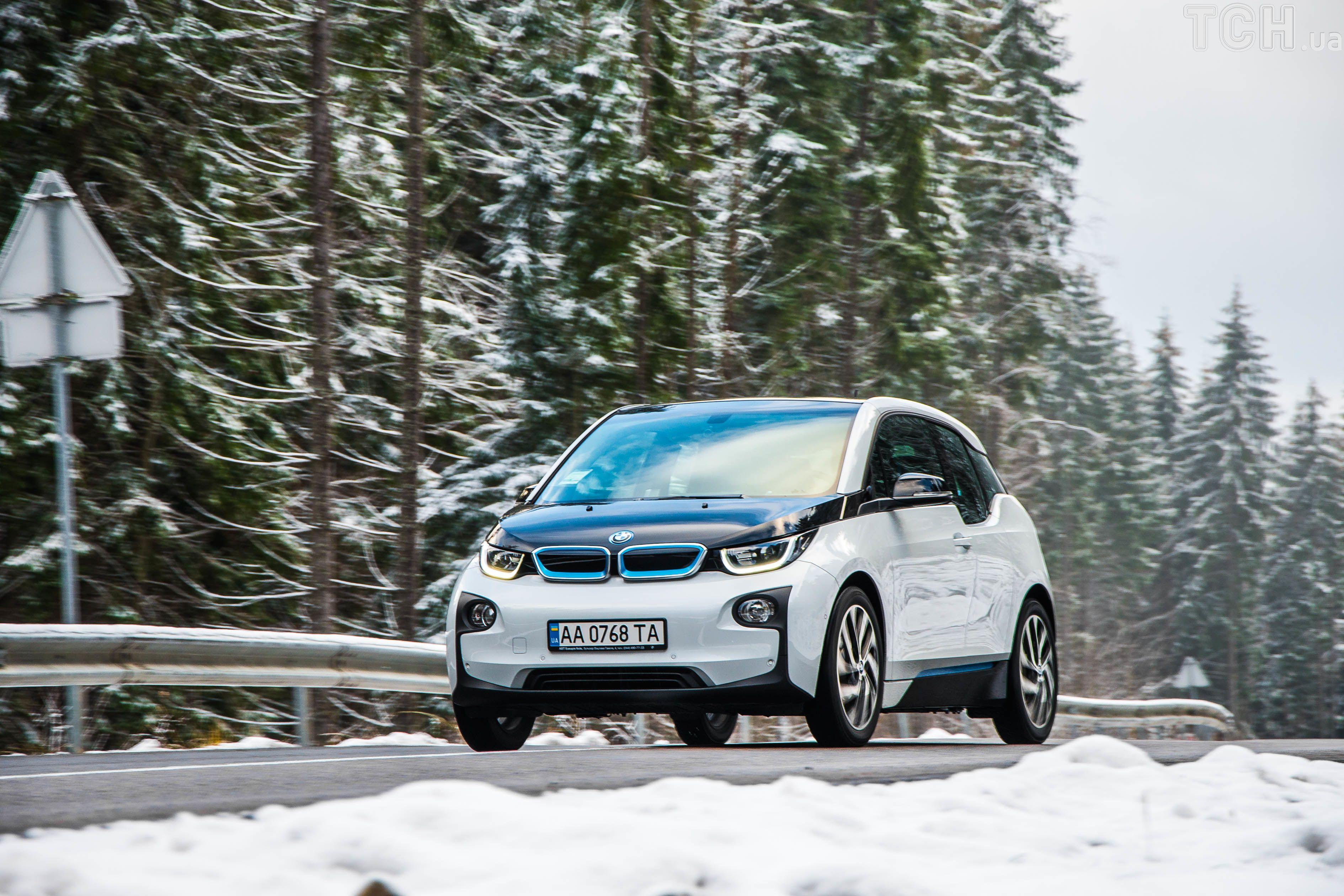 электромобиль, BMW i3