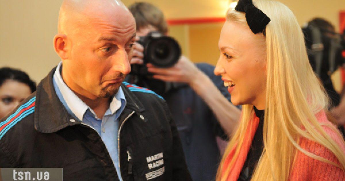 Олексій Мочанов та Оля Полякова