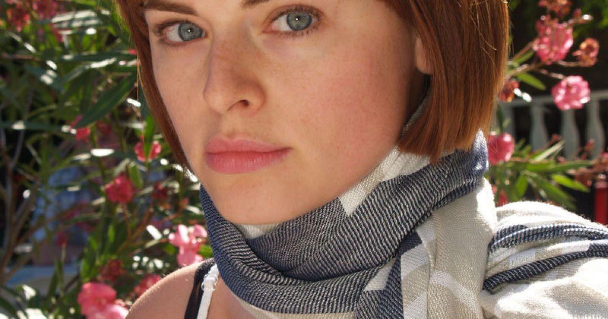 Російська акторка Людмила Ширяєва, яка грає у фільмі Хелену