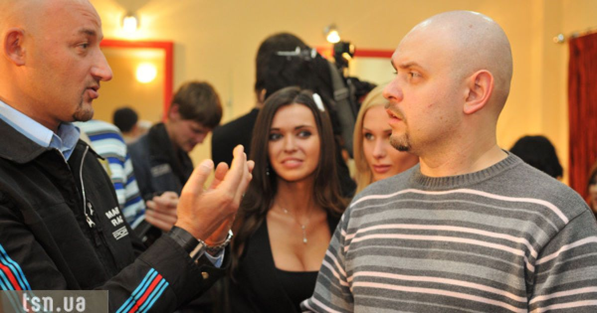Олексій Мочанов та Олег Чорний