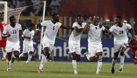 Переможний танок ганійців