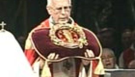 Алексій ІІ в Соборі Паризької Богоматері