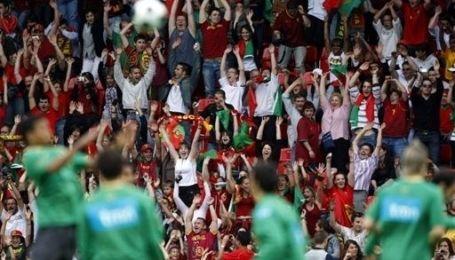 Популярність збірної Португалії