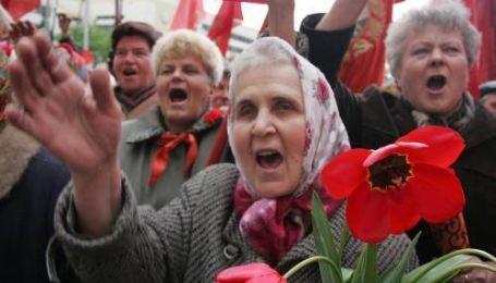 Святкування ювілею Жовтневої революції в Києві