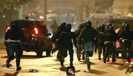 Протистояння вболівальників проти поліції в Італії