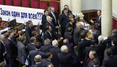 Які наслідки блокування Верховної ради?
