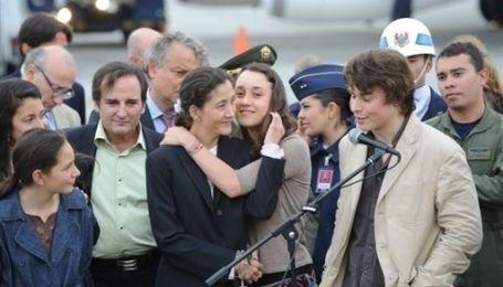 Звільнення Бетанкур (без коментарів. Reuters)