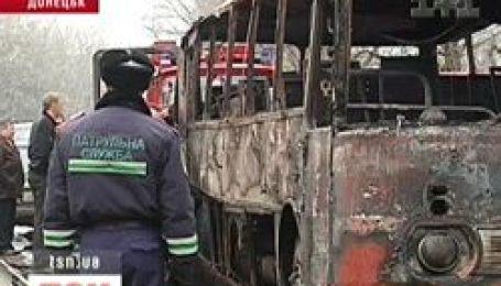 Подробиці вибуху автобусу на Донеччині