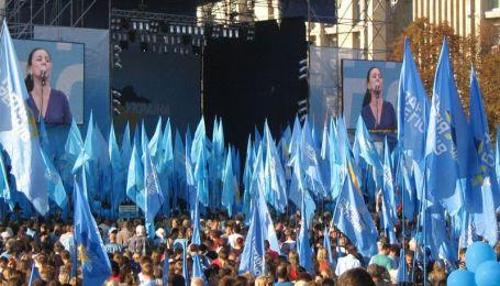 Партія регіонів уже святкує