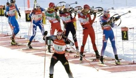 Корейський етап Кубка світу з біатлону