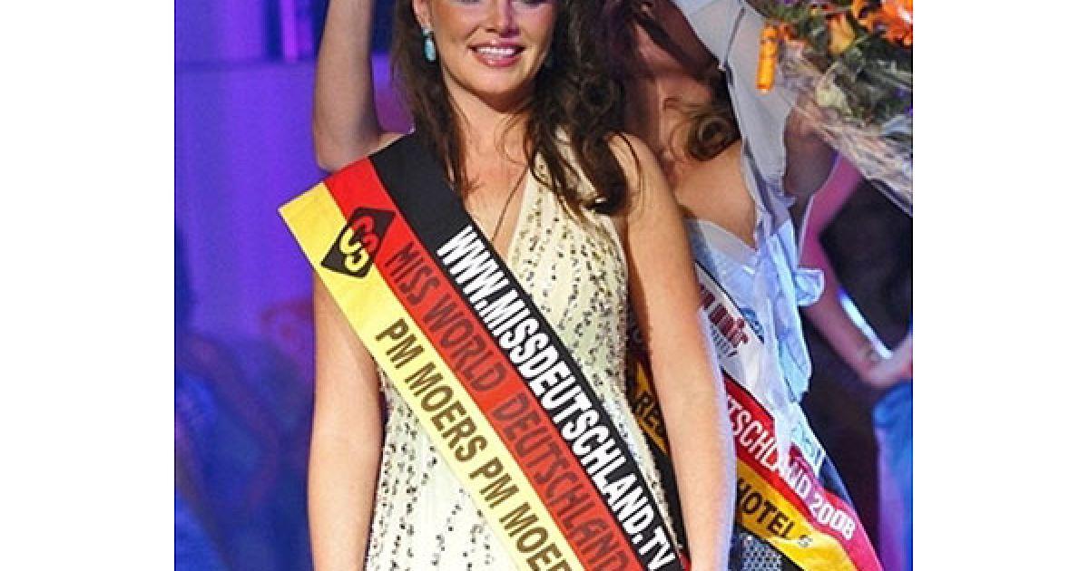 Топ-модель Алессандра Алорес (Олександра Водянникова) презентуватиме Німеччину на конкурсі Міс світу @ AFP