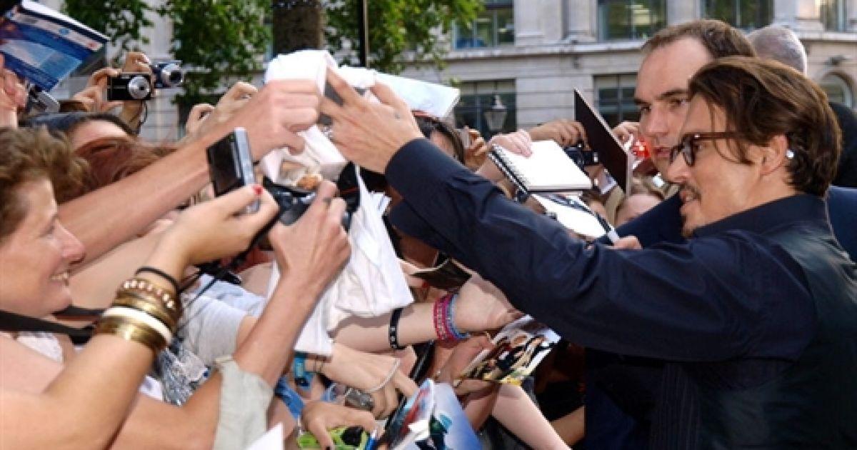 Джонні Депп @ AFP