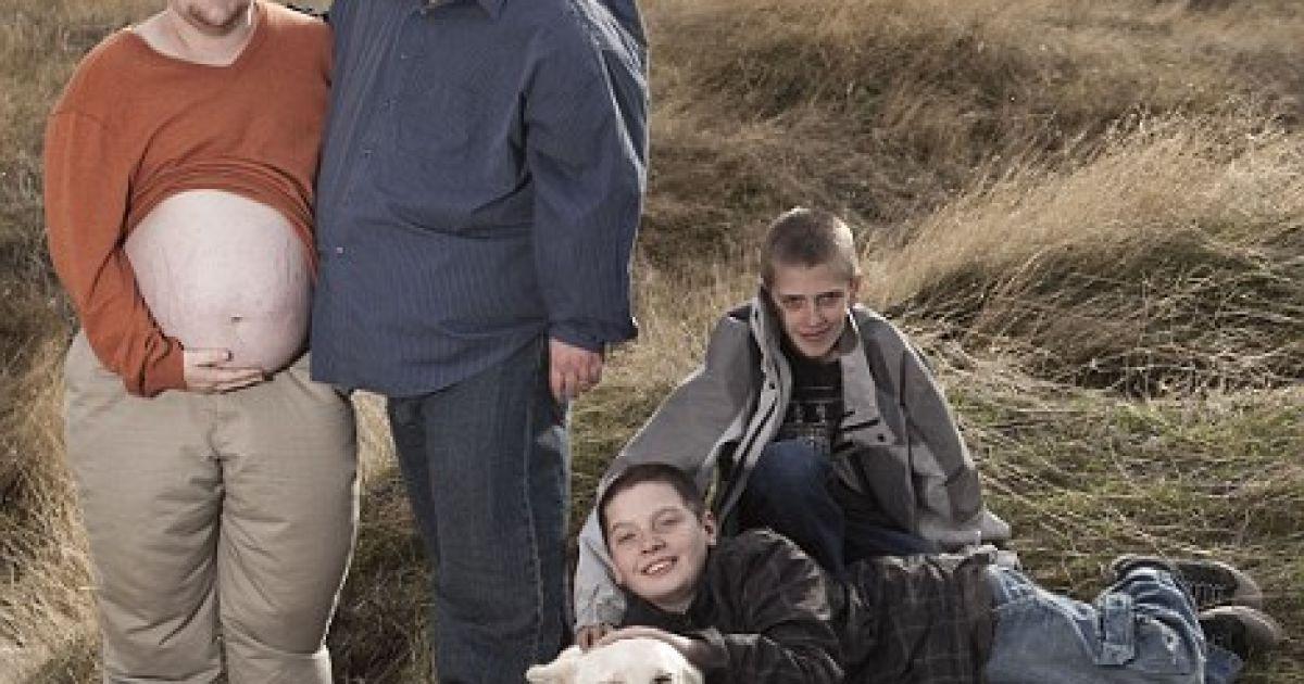 """Скотт Мур - другий вагітний """"чоловік"""" @ Daily Mail"""