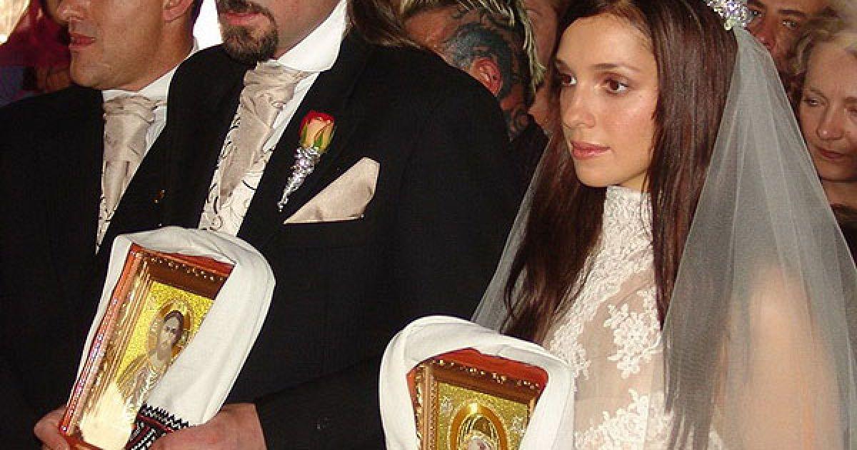 Вінчання Євгенії Тимошенко та Шона Карра, 2 жовтня 2005 року @ Євген Бурляй/ТСН.ua