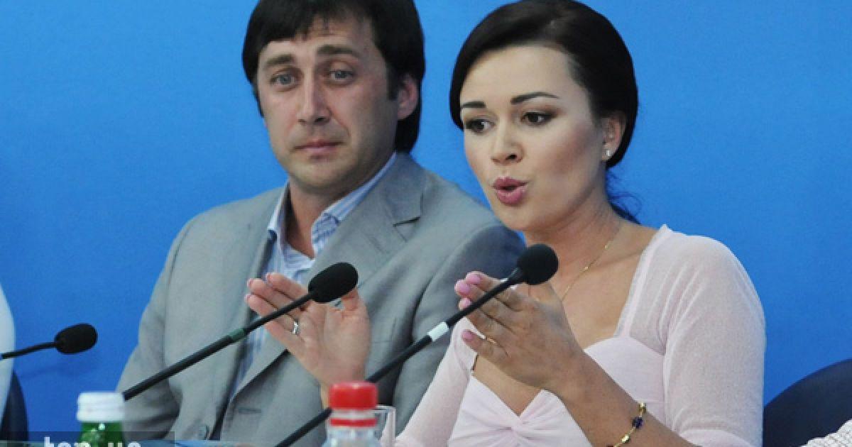 Анастасія Заворотнюк та Петро Чернишов