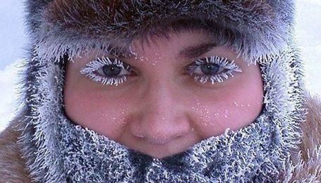 В Україну йдуть 30-градусні морози