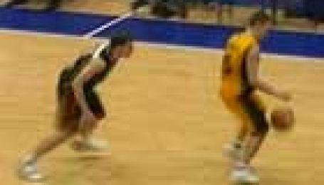 Збірна України з баскетболу проти збірної Бельгії