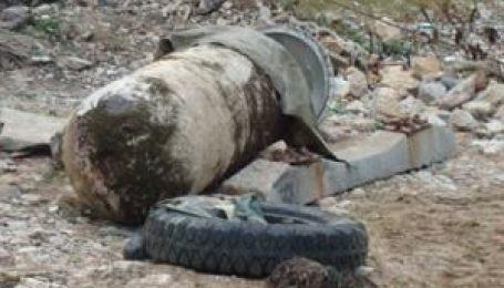 Німецька бомба у Феодосії