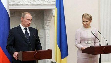 """Путін і Тимошенко """"пожартували"""" про президентів"""
