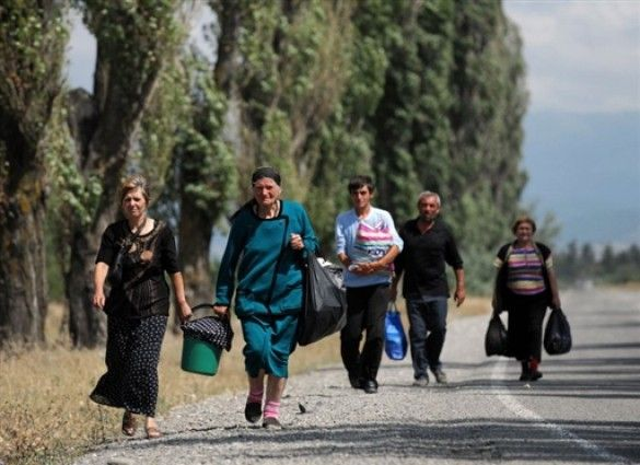 Грузинські біженці