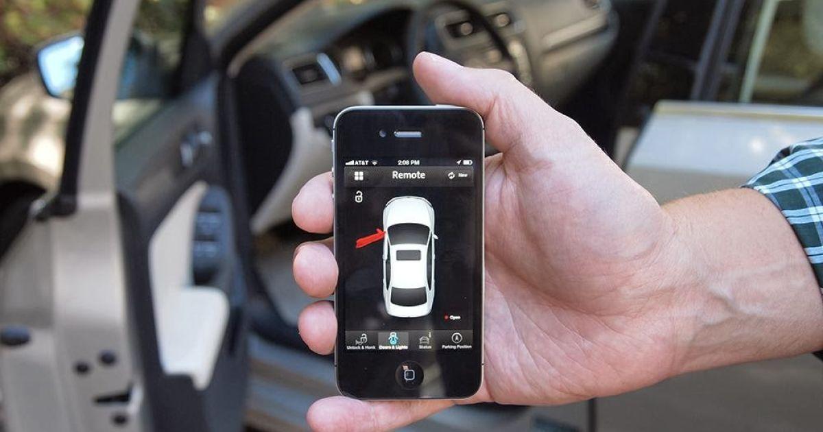 Управление параметрами авто с телефона