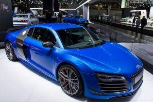 Audi представила эксклюзивное исполнение R8