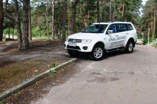 "Тест-драйв Mitsubishi Pajero Sport: Честный ""проходимец"""