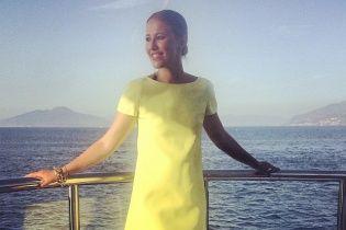 Ксения Собчак показала фотографии с отдыха на Капри