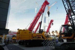 Sany показала новый 100-тонный кран