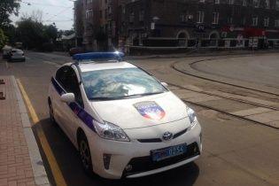 Донецкая милиция перекрасила свои авто в цвета террористов