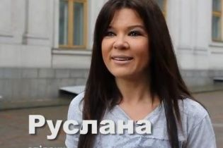 """Руслана обратилась к молодежи:  """"Встали с дивана и пошли голосовать!"""""""