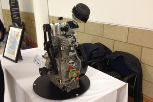 Британец создал само-наддувный мотор