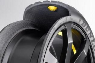Шины Dunlop смогут менять свои свойства на ходу