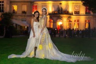 Платья украинского дизайнера Olena Dats' снова покорили Париж