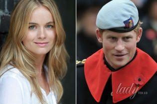 Крессида Бонас променяла принца Гарри на танцы