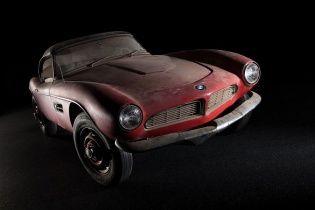 BMW возьмется за реставрацию родстера Элвиса Пресли