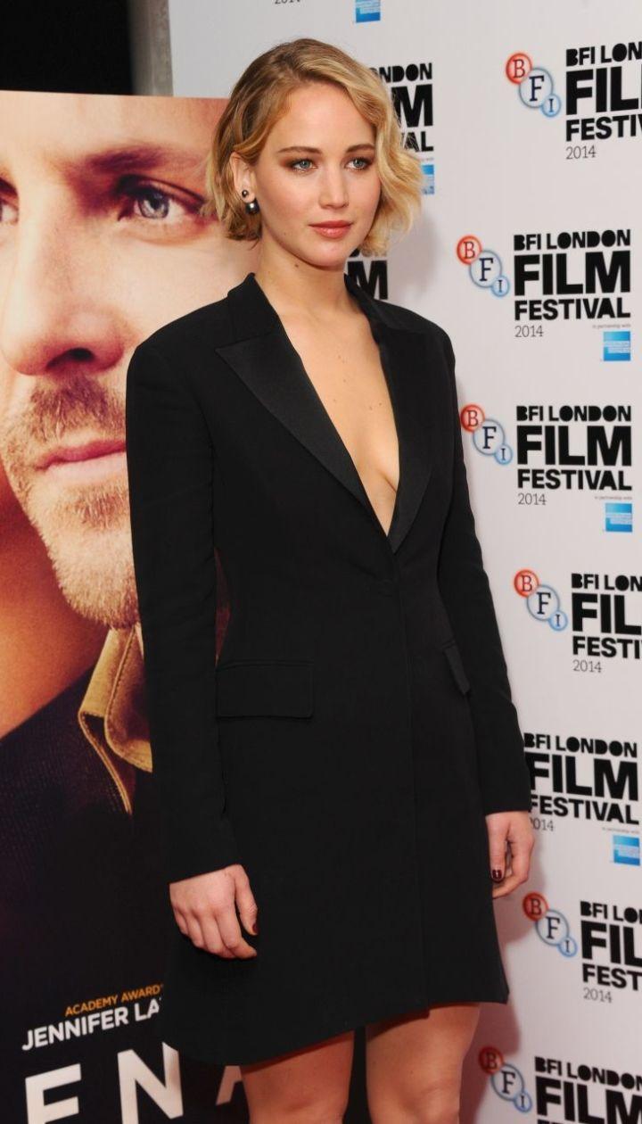 """Дженнифер Лоуренс на премьере фильма """"Серена"""" @ Getty Images/Fotobank"""