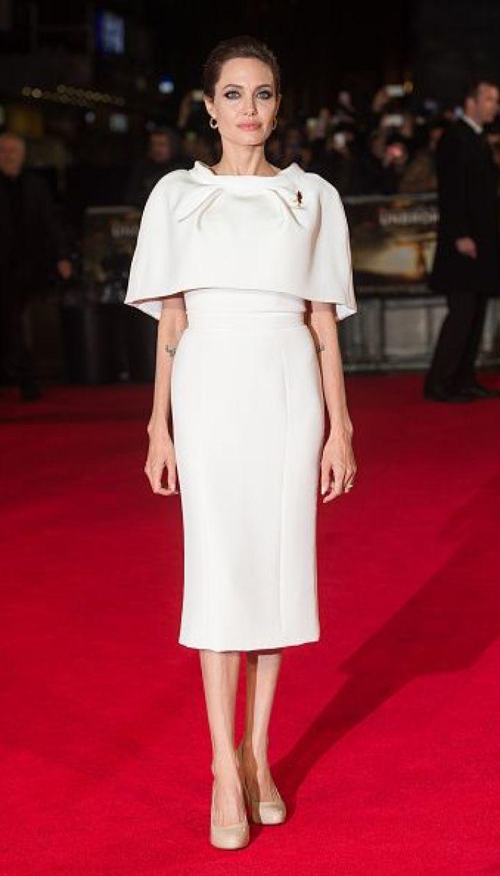 """Анджелина Джоли на премьере """"Несломленных"""" в Лондоне @ Getty Images/Fotobank"""