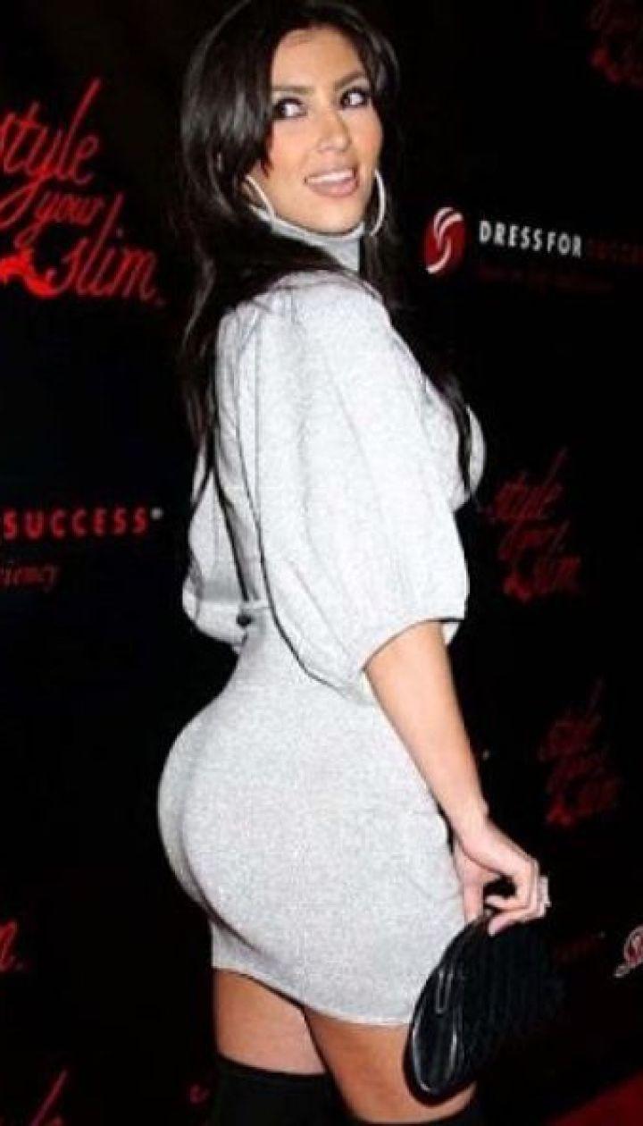 Ким Кардашьян на светской вечеринке @ instagram.com/kimkardashian
