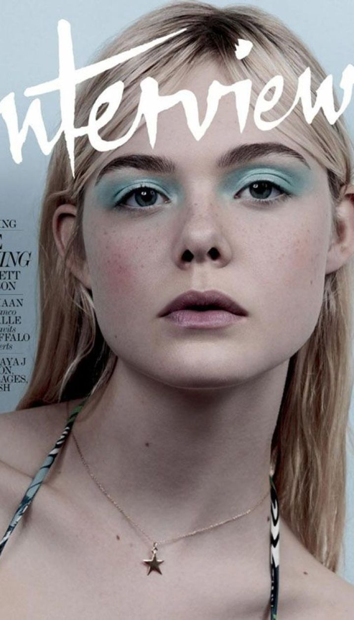 Эль Фаннинг в фотосете Interview Magazine