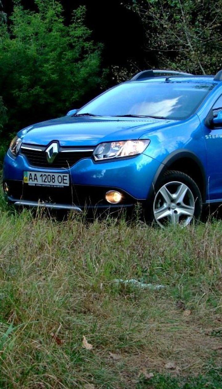 Тест-драйв Renault Sandero Stepway: Непритязательная практичность